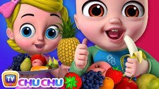 Yes Yes Fruits Song  - ChuChu TV Nursery Rhymes & Kids Songs