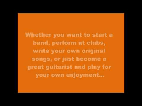 Guitar lessons online.