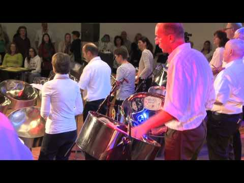 Extempo Steelband: Old Lady Walk A Mile, featuring Andy Narell