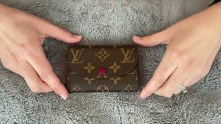 Louis Vuitton Rosalie Coin Purse | Review And Wear After 5 Months