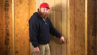 How to Unlock a Bathroom Door Knob : Door Installation & Repairs