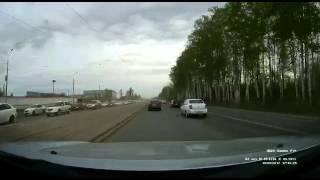 ДТП лада гранта авария. Казань