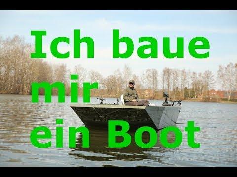 Ich baue mir ein Angelboot aus Aluminium 5,5mx2,2m