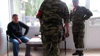 Старший прапорщик устроил дебош в военном институте
