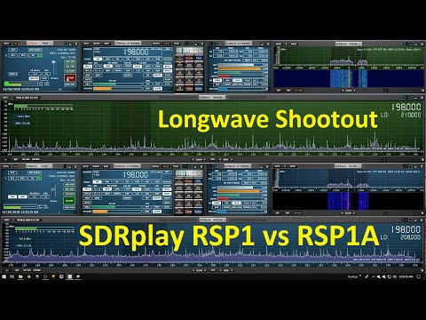 Long-wave Reception SDRplay RSP1 vs RSP1A (BBC4 on 198KHz Heard in