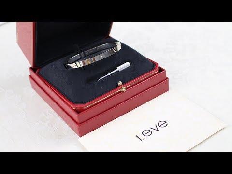 2017 Cartier Love Bracelet Unboxing in Depth