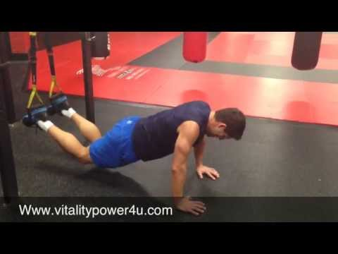 Suspension Step Over Atomic Push up