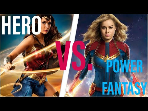 Captain Marvel: Hero or Power Fantasy?
