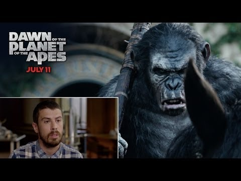 Dawn of the Planet of the Apes Featurette 'Toby Kebbell Commentary'