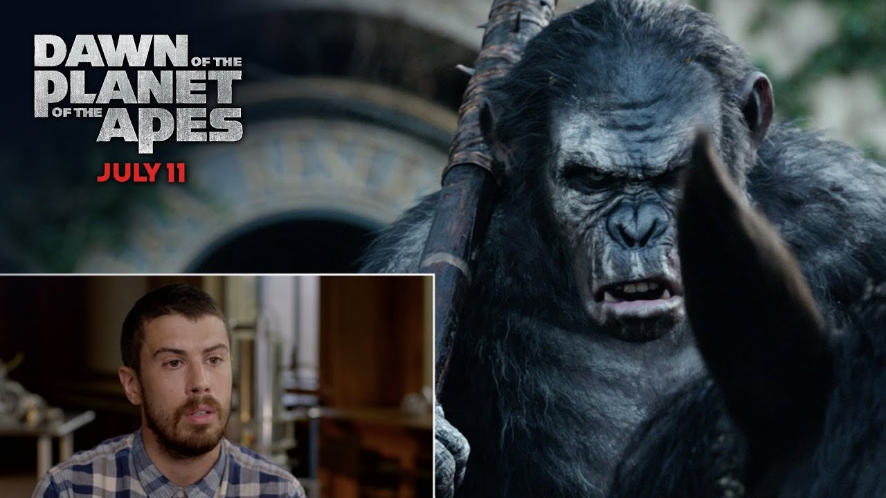 Toby Kebbell Commentary - Apes Don't Want War