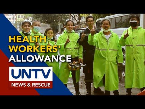 [UNTV]  DOH, humingi ng paumanhin kaugnay sa ipinagkakaloob na allowance sa health workers