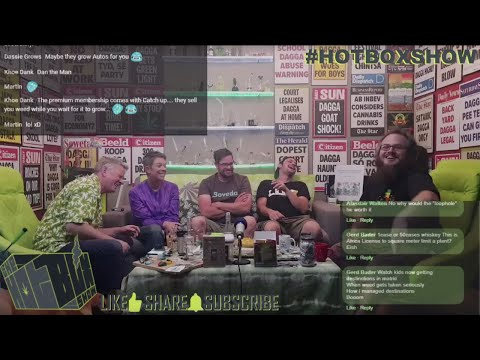 The #HotboxShow Ep 104 Ft. The Herbal Preserver