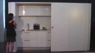 Angolo Cottura A Scomparsa : L arte del legno cucina a scomparsa most popular videos
