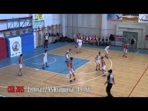 Preview video Lettera 22 vs Kragujevac 44 - 66