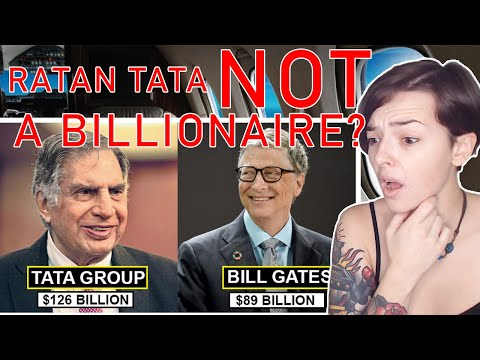 Ratan Tata Is Richer Than Bill Gates And Yet Not In The List Of Billionaires | REACTION!