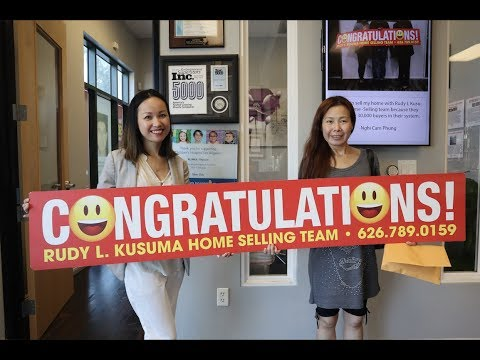 Christine - New Homeowner in Rosemead, CA - Bought a Home in 3 DAYS! Rudy Kusuma Home Selling Team
