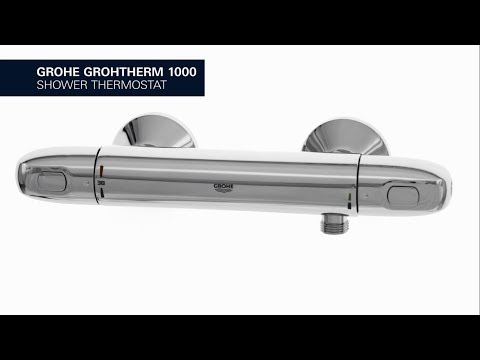 Grohe Grohtherm 1000 douchethermostaat chroom
