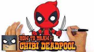 Смотреть онлайн Как нарисовать чиби дедпула поэтапно