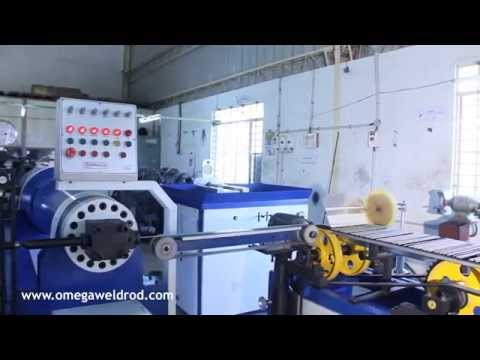 Process of Welding Electrode Manufacturing Plant
