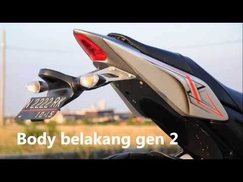 "Body kit yamaha byson ""LENT automodified"""