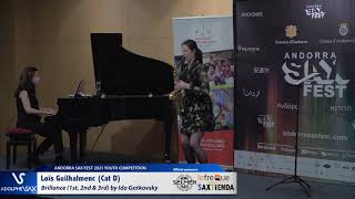 Loïs Guilhalmenc plays Brillance 1st, 2nd & 3rd by Ida Gotkovsky