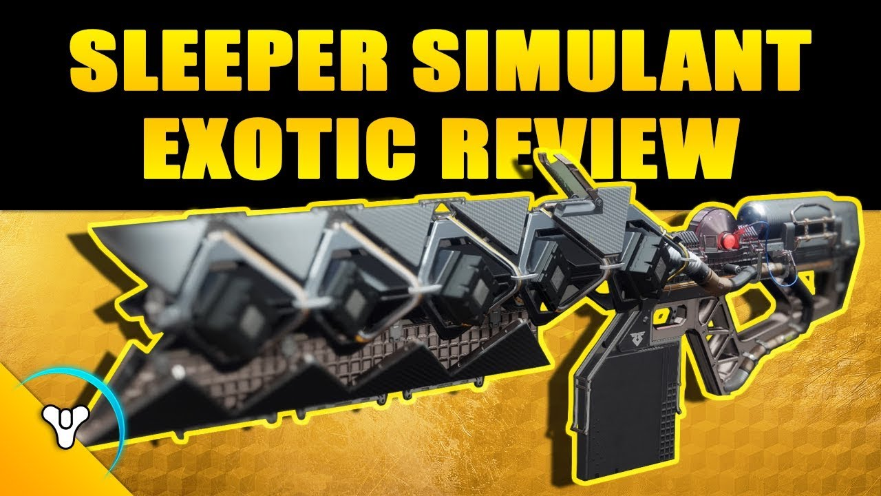 New Sleeper Simulant - Warmind Exotic linear fusion boost carry