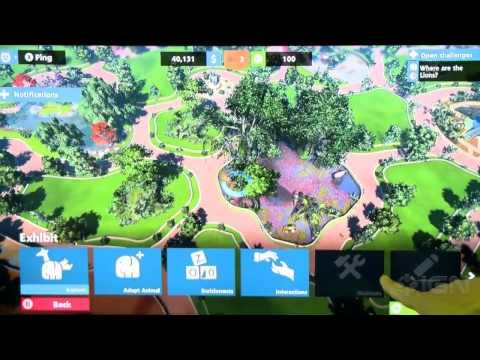První záběry ze hry Zoo Tycoon pro Xbox