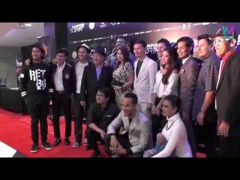 Kampung Dirft 首映礼现场采访