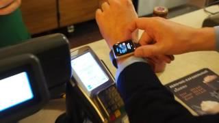 Первая в России оплата по Apple Pay при помощи Apple Watch. Эксклюзивно для Bankir.ru