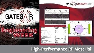 High-Performance RF Material