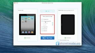 How to Sync iPad with Samsung Tablet on Mac, Copy iPad Files to Galaxy Tab 10.1 on Mac?