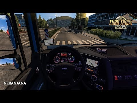 DAF XF 105 interior + sound + dashboard v1 1 - Modhub us