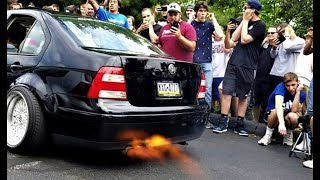 1JZ 240SX Destroys 2 STEP Competition! -  * Static Struggle Stanced Out Saturday *