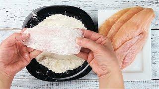 Курица в панировочных сухарях и сыре - Рецепты от Со Вкусом
