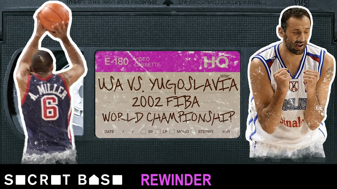 USA Basketball's shocking finish vs. Yugoslavia needs a deep rewind | 2002 FIBA World Championship thumbnail