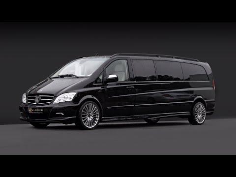 Немного переделанный Mercedes-Benz Viano