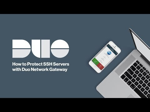 How to Protect SSH Servers with Duo Network Gateway