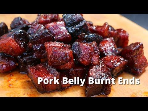 Pork Belly Burnt Ends   Smoked Pork Belly Burnt Ends on UDS Smoker