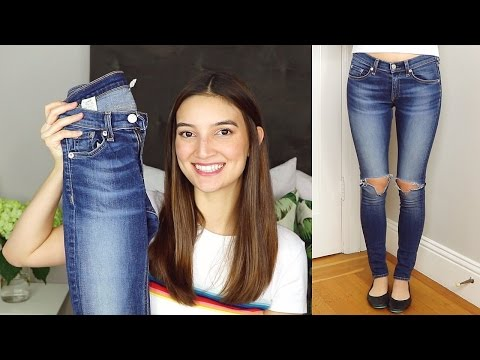 the BEST fitting, most flattering skinny jeans EVER!! | closet closeup