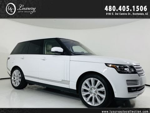Pre-Owned 2016 Land Rover Range Rover Supercharged V8