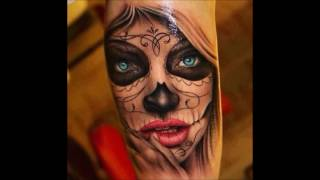 Tattoos and Booze - Best of Day of the Dead - Tattoo Compilation