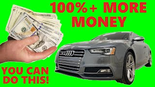 BEST WAY TO SELL A CAR PRIVATELY - Selling a used car - make more money! $$$$