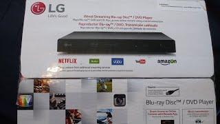 Region Free BD//DVD Player from LG