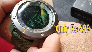 800 Digital Army Green Sports Watch
