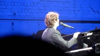Josh Groban.New York.Intro+Bells of New York City.14 November 2011.