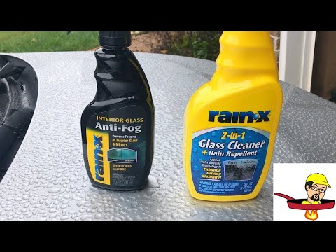 Rain X Anti Fog & Rain Repellent & Winshield Wonder – AS SEEN ON TV