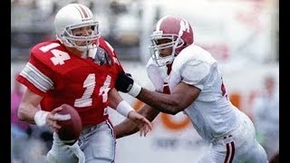 1995 Citrus Bowl #6 Alabama vs #13 Ohio State No Huddle