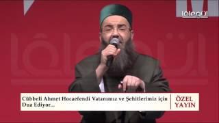 Cübbeli Ahmet Hoca İncirlik kapansın sloganını Kısıklıda baslattı