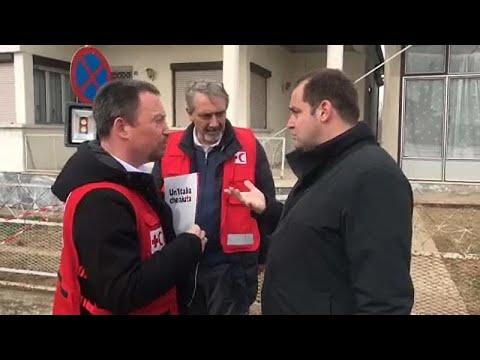 Ο Ιταλικός Ερυθρός Σταυρός στον Έβρο