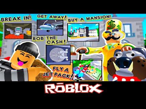 ROB MR RICH'S MANSION! 💰 (NEW) By PlatinumFalls [Roblox]